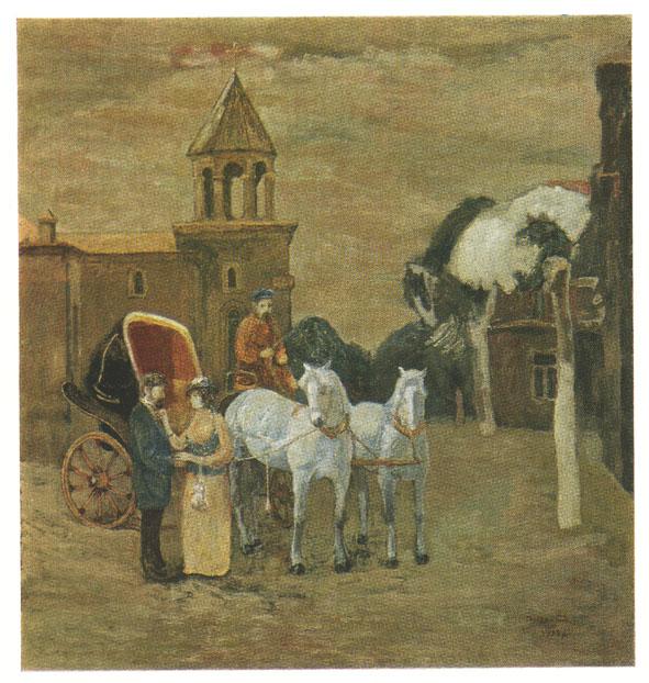 Սպիտակ ձիերով ֆայտոնը Մարինա Ստեփանյան. «Ռ. Աթոյան», Մոսկվա, ռուսերեն, 1988 թ.